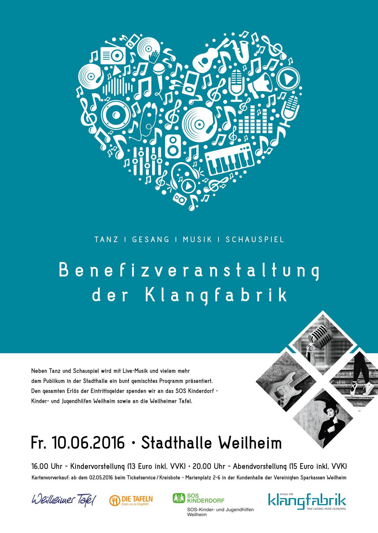Klangfabrik Benefizveranstaltung